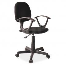 Židle kancelářská dětská černá Q-149