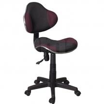 Židle kancelářská dětská černá/fialová Q-G2