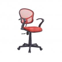 Židle kancelářská dětská červená Q-141