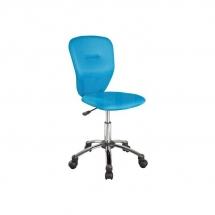 Židle kancelářská dětská modrá Q-037