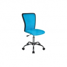 Židle kancelářská dětská modrá Q-099