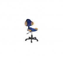 Židle kancelářská dětská modrá/žlutá Q-G2