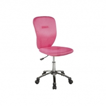 Židle kancelářská dětská růžová Q-037