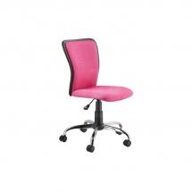 Židle kancelářská dětská růžová Q-099