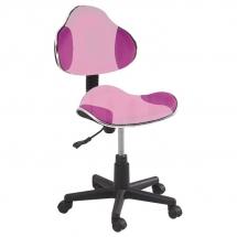 Židle kancelářská dětská růžová Q-G2