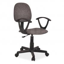 Židle kancelářská dětská šedá Q-149