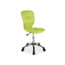 Židle kancelářská dětská zelená Q-037