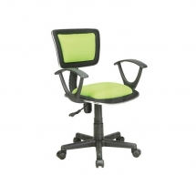 Židle kancelářská dětská zelená Q-140