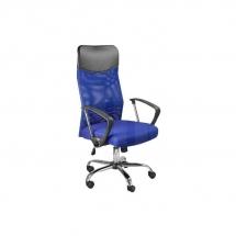 Židle kancelářská modrá Q-025