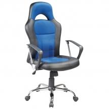 Židle kancelářská modrá Q-033