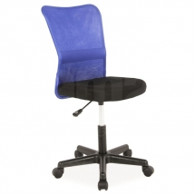 Židle kancelářská modrá Q-121