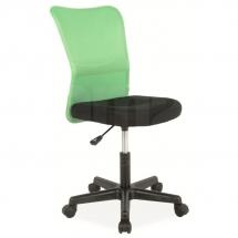 Židle kancelářská zelená Q-121