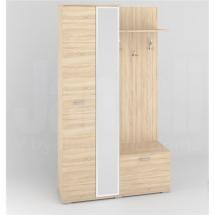 Předsíňová stěna se skříní sonoma světlá PRZ 117-01