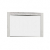 Zrcadlo kraft bílý INDIANAPOLIS I12