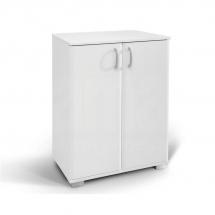Komoda dvoudvéřová bílá ROMA 1 140109