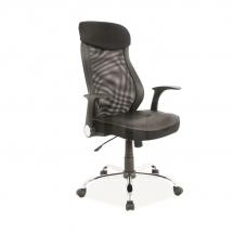 Židle kancelářská černá Q-120
