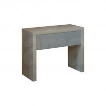 Noční stolek akát/šedý ZUZANA
