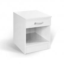 Noční stolek bílá ALFA 360109