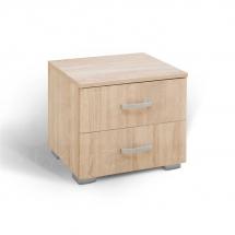 Noční stolek dub bardolino MATIS 2F 360212