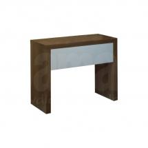 Noční stolek ořech/šedý ZUZANA