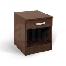 Noční stolek wenge ALFA 360106