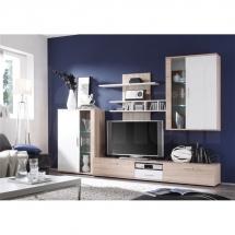 Obývací stěna dub sonoma/bílá SMART 31 EW MA
