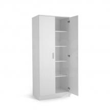 IVA K2 POL - skříň dvoudvéřová kombinovaná bílá