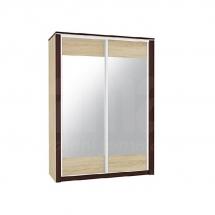 Skříň s posuvnými dveřmi sonoma světlá/tmavá OLIWIER 03/L