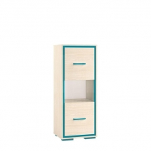 Skříňka dětská modrá BONTI 08