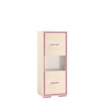 Skříňka dětská růžová BONTI 08
