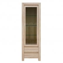 Prosklená vitrína dub sonoma AGUSTIN REG1WM2SP - pravá