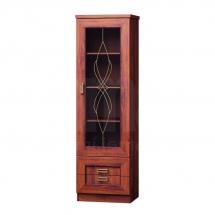Prosklená vitrína dub stoletý TADEÁŠ T10