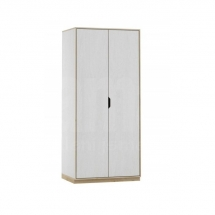Skříň šatní dvoudvéřová bílá KAROLIN 03