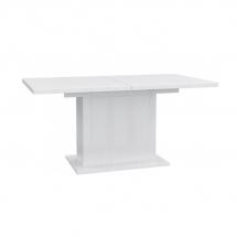 Stůl jídelní rozkládací bílý EST42