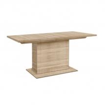 Stůl jídelní rozkládací dub sonoma EST42