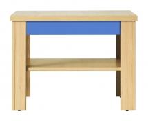 Konferenční stolek CODI PLUS CD/1 višeň cornvall/modrá