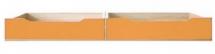 Šuplíky do postele CODI PLUS CD/16 višeň cornvall/oranžová