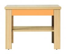 Konferenční stolek CODI PLUS CD/1 višeň cornvall/oranžová