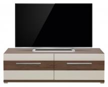 Televizní stolek Moka MK/1 višeň/jasmín vysoký lesk