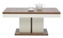 Konferenční stolek rozkládací Moka MK/10 višeň/jasmín vysoký lesk