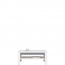 Konferenční stolek Twin TW/10 bílá/šedá