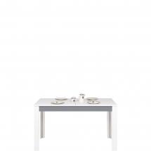 Jídelní stůl rozkládací Twin TW/11 bílá/šedá