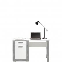 Pracovní stůl Twin TW/12 bílá/šedá