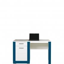 Pracovní stůl Twin TW/12 bílá/modrá