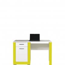 Pracovní stůl Twin TW/12 bílá/zelená