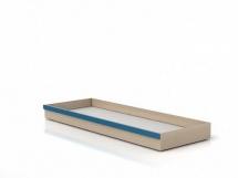 Šuplík pod postel SZU Dub světlý belluno/modrá
