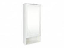 Zrcadlo se skříňkou bílé APOLON PA-5