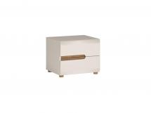 Noční stolek bílý LINATE TYP 96