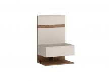 Noční stolek bílý LINATE TYP 95