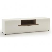Televizní stolek bílý LINATE TYP 50